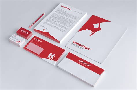 business letter mockup xpedition print identity mockup envelope business card