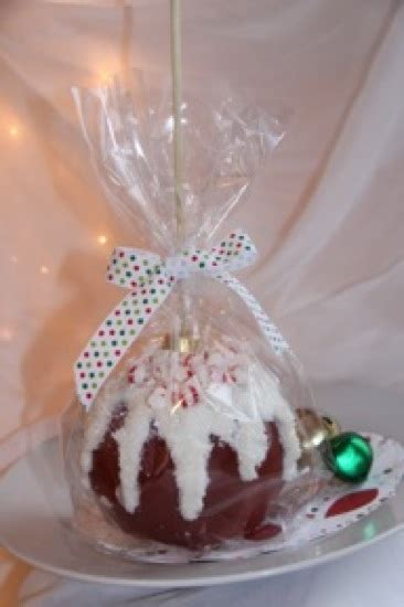 christmas ornament caramel apples
