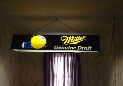 Miller Genuine Draft Pool Table Light Pinterest The World S Catalog Of Ideas