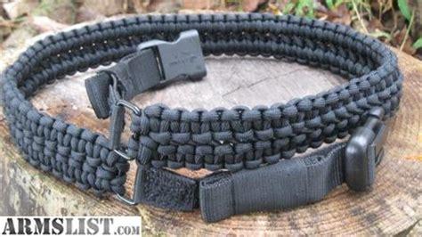 Gesper Belt Tactical Paracord armslist for sale tactical style black paracord belt