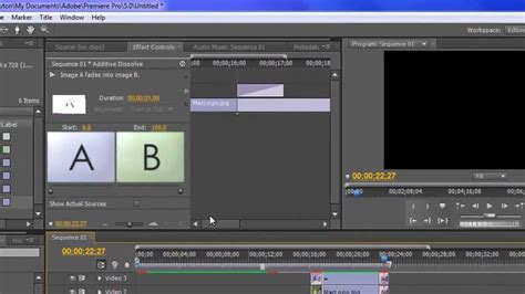 tutorial adobe premiere pro cs5 pdf adobe premiere pro cs5 tutorial effects youtube