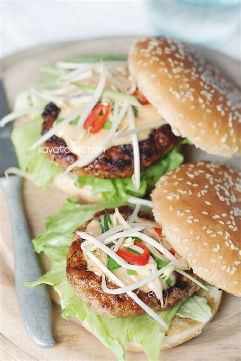 were chignons used in the 20 jamaican style chicken burger i made these tonight