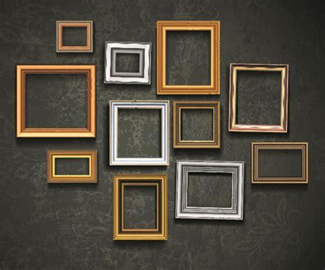 tapete mit bilderrahmen vintage frame on the wall vector 01 millions