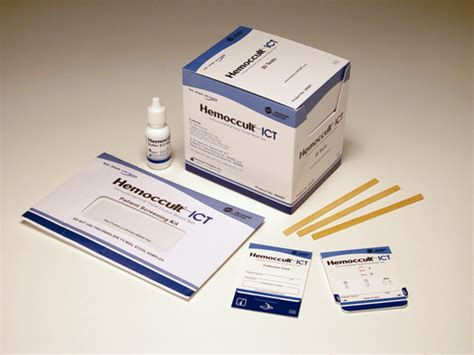 How To Collect Stool Sle For Occult Blood by Hemoccult Ict Immunochemical Fecal Occult Blood Test