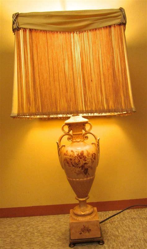 lamps  rembrandt pair original shades