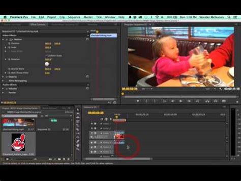 adobe premiere cs6 rotate video adobe premiere cs6 how to rotate a video how to overlay