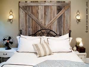 Barn Door Headboard Barn Door Headboard Homey Stuff