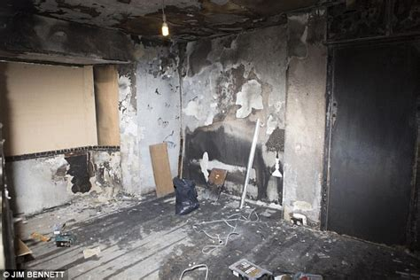bf bedroom boyfriend s candle tribute to girlfriend sparks fire and destroys his home daily mail online
