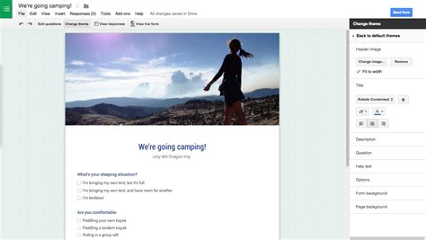 themes google forms google forms adds custom themes new survey designs