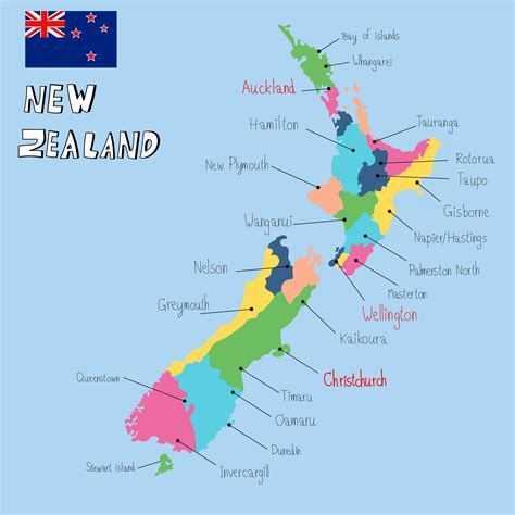 new on the map new zealand map guide of the world