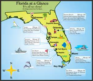 florida attractions map tropical lifestyles