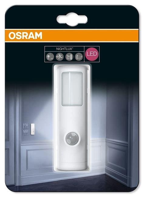 Lu Led Philips Atau Osram osram led nightlux torch batterile med sensor ip54