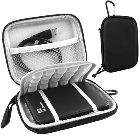 Shockproof Pouch Bag For External Hdd 2 5 Inch Power B T30 new protective shockproof bag for 2 5 inch western digital wd 1tb 2tb usb 3 0 external
