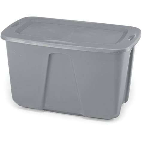 tall plastic storage bins with lids 6 large plastic storage containers 32 gallon box set
