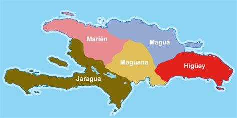 hispaniola map haiti