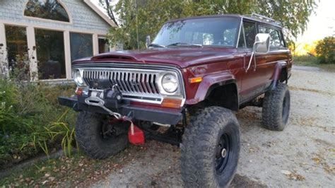 jeep cherokee chief off road lifted jeep amc cherokee chief offroad rock crawler for