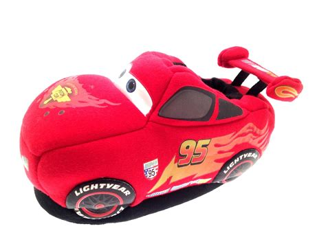 cars house shoes kids boys disney cars 3d slippers fun novelty booties shoes childrens size ebay