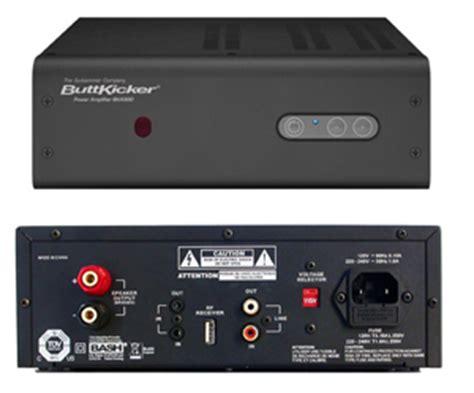 amazoncom buttkicker wireless home theater kit includes