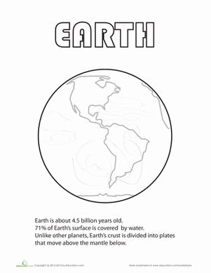 planet coloring page pdf planet coloring pages education com