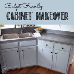budget friendly cabinet makeover the diy village 1000 images about kitchen on pinterest earth tones