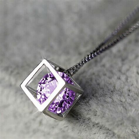 Square Necklace buy silver plated geometric square necklace