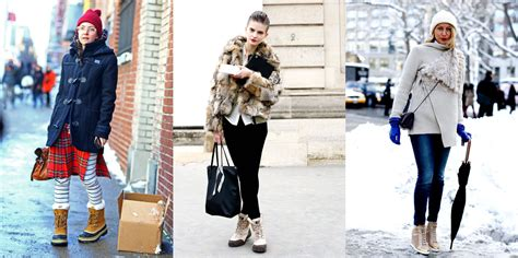 Get The Look An For The Snow by How To Wear Snow Boots To Look Slim And Chic Chic Front丨