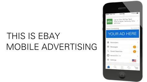 mobile apps advertising ebay set to offer in app mobile advertising marketing land