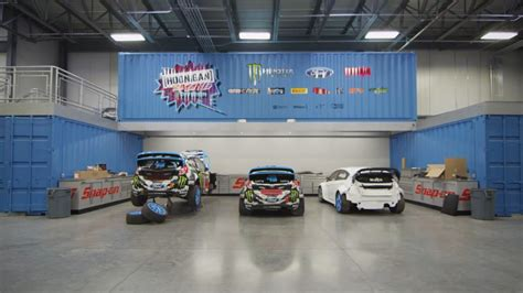 Ford World Headquarters Garage by Ken Block Reveals Hoonigan Racing Division Headquarters