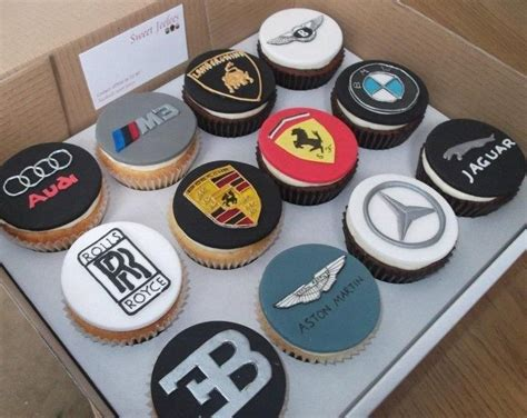 car logo cupcakes cake by jameela cake more car logos logos and cars