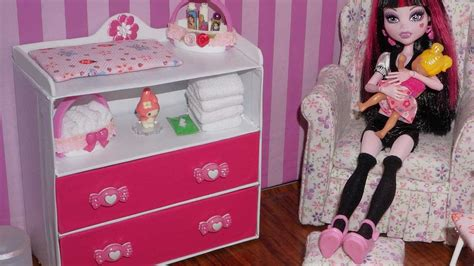how to make a baby changing table how to make baby changing table dresser for doll