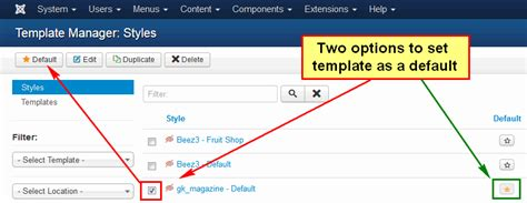 default template how to install a template in joomla 3
