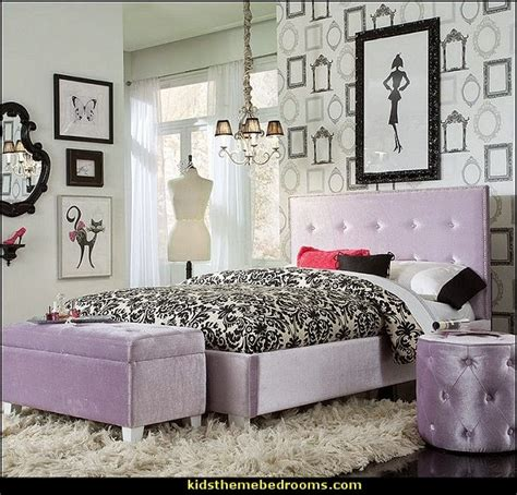 Fashion Themed Bedroom | decorating theme bedrooms maries manor fashionista