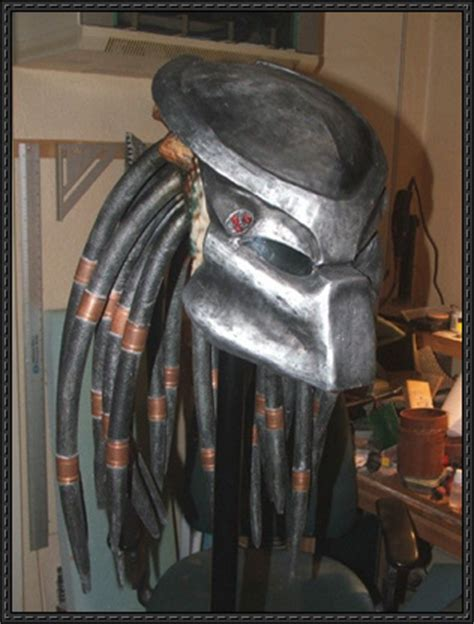Predator Papercraft - new paper model predator bio mask free papercraft
