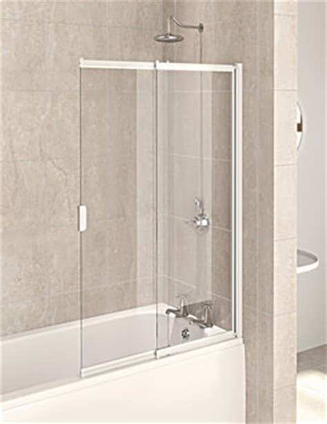 two panel sliding shower bath screen bath shower screens frameless and framed bath shower screen