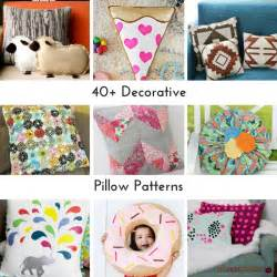 Decorative Pillow Patterns To Sew by 40 Decorative Pillow Patterns Allfreesewing