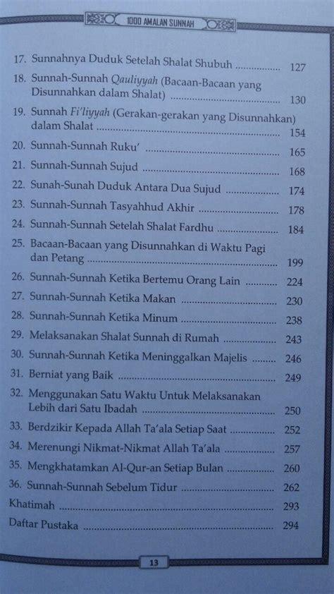 Ritual Sunnah Setahun Media Tarbiyah buku kupas tuntas 1000 amalan sunnah sehari hari
