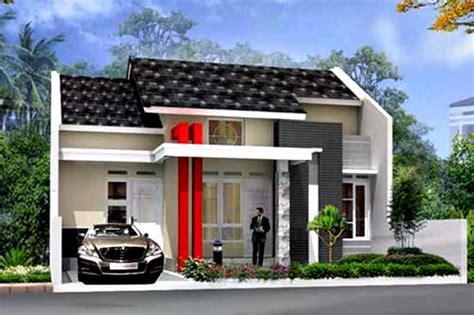 contoh gambar rumah minimalis 1 lantai bergaya modern