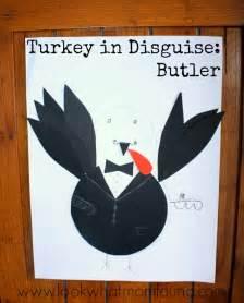 turkey  disguise thanksgiving kids craft