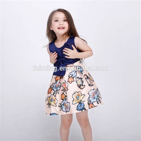 Csh 024 Baju Dress Anak Casual Anak Perempuan Cewek 2016 innovative product summer frock designs comfortable
