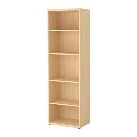 besta bookcase best 197 shelf unit birch effect ikea