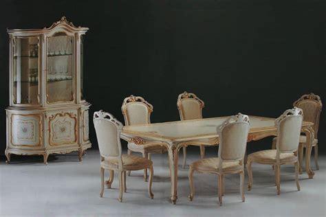 tavolo stile barocco tavolo rettangolare intagliato per ambienti in stile
