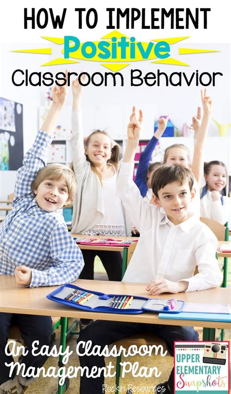 does classroom layout affect behaviour upper elementary snapshots how to implement positive