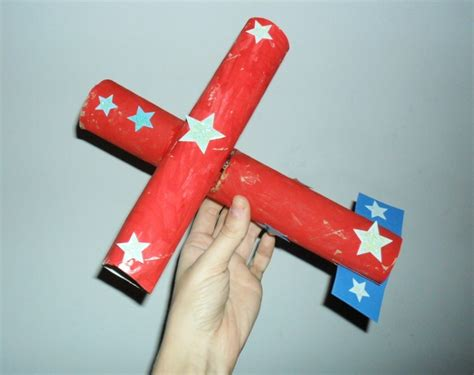 Paper Towel Roll Crafts For - paper towel roll airplane transportation for