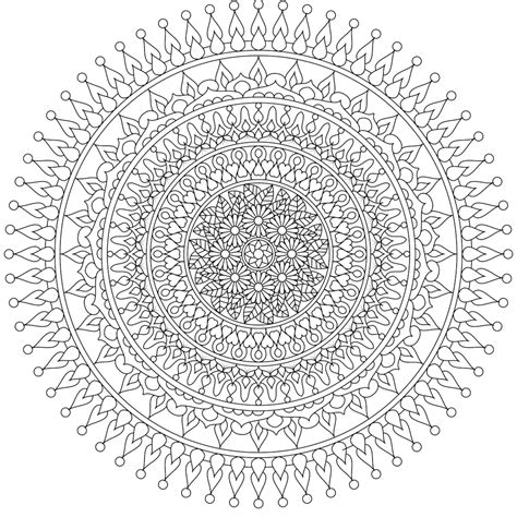 beautiful mandala coloring pages for adults quot moon heart quot a beautiful free mandala coloring page you