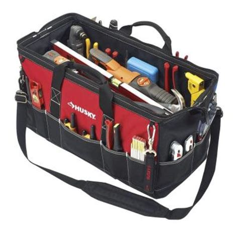Home Depot Tool Bags husky 24 in tool bag gp 44448en13 the home depot
