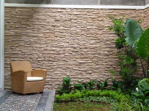 model  jenis batu alam  dinding rumah