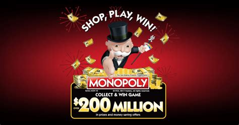 Safeway Monopoly Sweepstakes - monopoly game at safeway 2017 playmonopoly us winzily