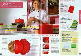Steam It Tupperware Terbaru katalog tupperware 3 2010 1 april 15 mei 2010
