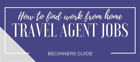 How To Start An Online Travel Agency Working From Home - free work at home guide legit online jobs
