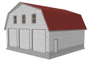 Barn Apartment Plans by G491 Plans 40 X 40 X 12 6 Gambrel Barn Apartment P